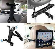 Universal In Car Headrest Back Seat Holder Mount for any 7 to 11 Inch Tablet