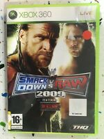 Smackdown vs Raw 2009 Espagnol Wwe Xbox 360 Featuring Ecw Thq Am
