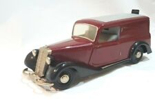 Schuco Kastenwagen Mercedes benz 170 V 1:18 rot schwarz 25 Jahre alt m Werkzeug