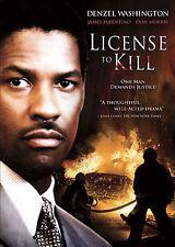 License to Kill (DVD, 2007, Full Screen) VERY GOOD