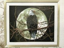 CROSS STITCH KITS - Eagle in the moonlight