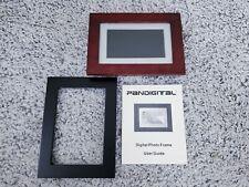 PANDIGITAL 7 Inch LCD Digital Brown Espresso Photo Frame - Model DPF70-2 TESTED