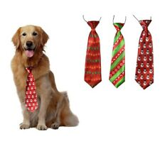 100PCs Christmas Pet Dog Elastic Band Grooming Accessories Large Dog Neckties