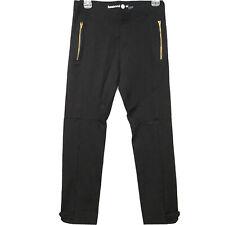 Betabrand Moto Dress Pants Yoga Pants Women's Sz Medium Long Zipper Pockets EUC