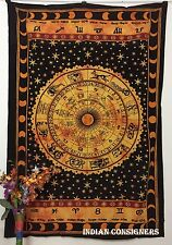 Bed-Sheet Bedspread 85*55 Horoscope Sun-sign Sun Bedding Tapestries Wall Hanging