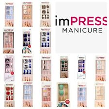 Kiss imPress Press-On Pedicure Nails Choose from Over 20 Pedicure Designs New!