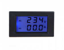 Digital AC100-300V 0-100A BLUE LCD DISPLAY PANEL VOLT/AMP meter With CT