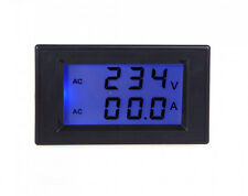 Digital AC100-300V 0-100A LCD Dual Display Panel Voltage Amp Meter With CT