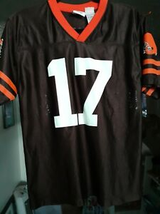 NFL Team Apparel Cleveland Browns Braylon Edwards #17 Youth size Large Jersey