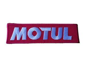 MOTUL Motor Racing / Motorsport Patch Sew / Iron On Badge