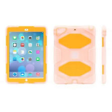Griffin Survivor Touch Hard Case Cover For Apple iPad Air Clear Orange GB38939