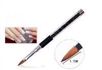 UV Gel Nail Art Tips Crystal Acrylic Painting Drawing Pen Polish Brush Pen Set