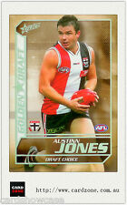 2005 Select AFL Dynasty Grand Redemption Golden Draft DC13 A. Jones (St. Kilda)