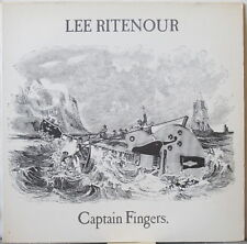 LEE RITENOUR Captain Fingers LP 1970s Funky Jazz-Rock, on Epic
