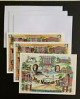 BLUE+MOUNTAIN+COLLEGE+Mississippi+notecards+lot+3+2+designs++UNUSED+2000