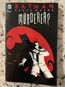 Batman Bruce Wayne Murderer DC Comics TPB Graphic Novel Comic Book Joker J588