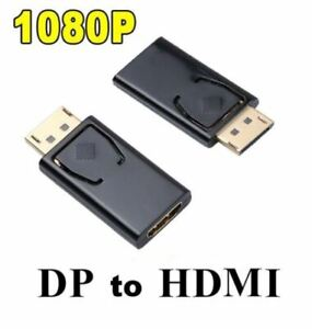 Display Port DP To HDMI Female Adapter Converter For HDTV PC HD 1080P
