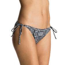 Roxy Scooter Bikini Bottoms Mix Dolty Tie Side Black/White S, M, L BNIB