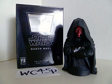 Gentle Giant Star Wars DARTH MAUL Mini Bust - Episode I: The Phantom Menace
