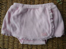 BABY GAP INFANT GIRL PINK FLUFFY NAPPY COVER SKIRT SIZE 00 FITS 3-6M *LIKE NEW