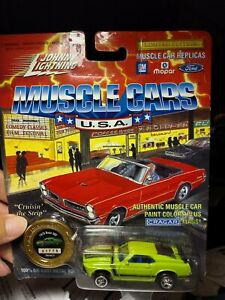 Johnny Lightning 1994 Muscle Cars USA 1970 Boss 302 Lt Green S4 NOC