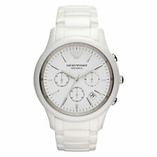 Men's Watches Emporio Armani AR1453 Luxury Watch Ceramica Chronograph Date