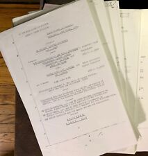 THE PROCESS CHURCH OF THE FINAL JUDGEMENT vs ED SANDERS EVIDENCE FILE 387 PAGES