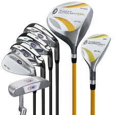 "*New* US Kids Golf UL 63"" Player Height 7-club Junior Set w/ Stand Bag"