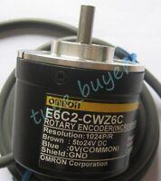 Omron E6C2-CWZ6C Rotary Encoder 500P/R New