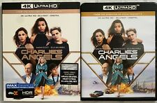 CHARLIES ANGELS 2019 4K ULTRA HD BLU RAY 2 DISC SET + SLIPCOVER SLEEVE BUY ITNOW