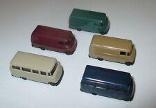 Rietze Mercedes-Benz L 319 Bus And Box 1:160 N Gauge - 5 Pcs New