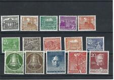 Germany - West Berlin.  Collection of 36 stamps, 1948-1952, Mint and Used.