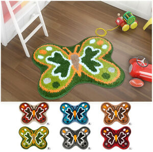 Carpet Rug Bathroom Living Room Cooking Butterfly Non-Slip Modern Multipurpose