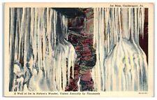 Mid-1900s Ice Mine, Coudersport, Pa Postcard