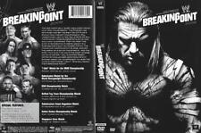 DVD:   WWE BREAKING POINT 2009....3 HOURS LONG