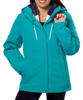 Gerry Systems Women's 3-in-1 Jacket with Detachable Hood Teal