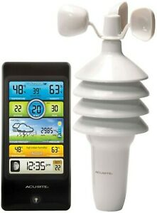 Pro Color 3n1 Digital Weather Center w/Wind Speed/Temperature/Humidity NIB 60596