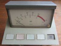 vintage EAG console (BEAG)THE LEVEL INDICATOR  MBE 191  Excellent quality