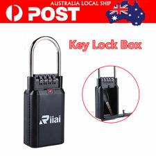 Portable Riiai Key Safe Security Lock Storage Travel Padlock-Door Big Capacity