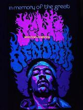 Jimi Hendrix Psychedelic Art Blacklight Poster Woodstock Pot Weed Marijuana