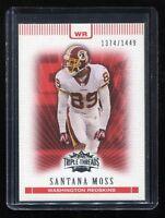 2007 Topps Triple Threads #71 Santana Moss (Washington Redskins) #d 1374/1449