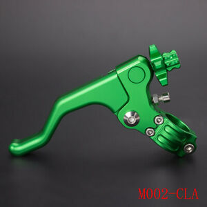 """CNC Stunt Cable Clutch Lever For Universal 1 Finger Easy Pull 22mm 7/8"""" Stunting"""