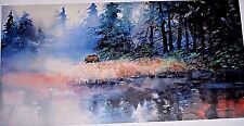 "Milton Lewis ""Lonely Hunter"" 1998 sw bear print"