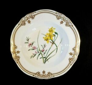 Stunning Spode Stafford Flowers England Large Soup/ Pasta Bowl