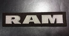 Dodge Ram Truck 4x4 High-Quality Embroidered Patch Brown / Silver