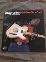 Albert Collins And The Ice Breakers Vinyl LP Don't Lose Your Cool NM+ RECORD