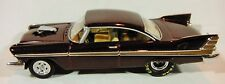 Hot Wheels CLASSIC 1957 OR 1958 MAROON PLYMOUTH FURY - MINT CONDITION