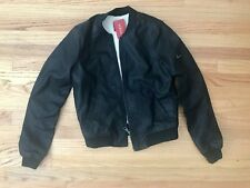New Guess Faux Bomber Leather Jacket S