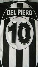 Maglia Shirt Camiseta JUVENTUS 10 DEL PIERO  Size XL model Season 2002 Vintage