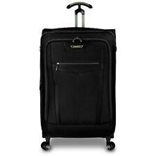 """Clayton 32"""" Large Checked Ballistic Nylon Expandable TSA Lock Spinner Luggage"""